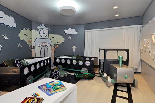 camas infantiles originales tren - Habitaciones De Bebe Originales