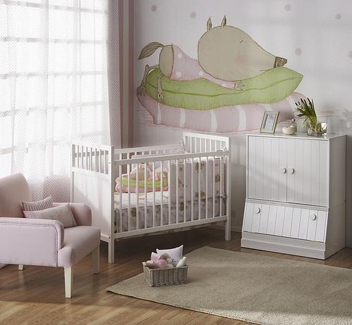 papel para la habitacin beb