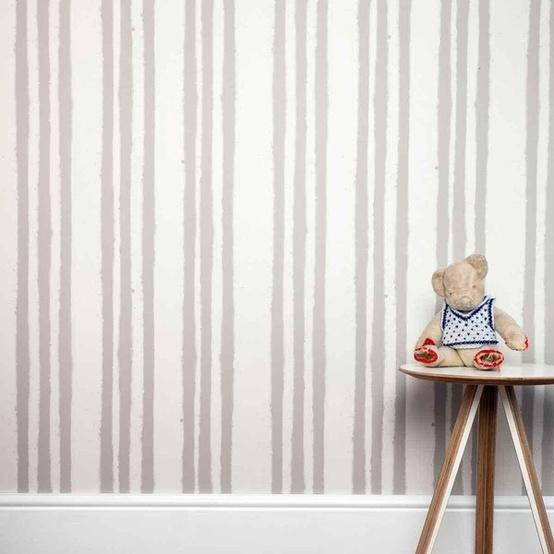papel pintado rayas infantil