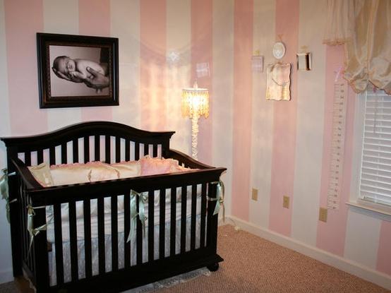 Papel pintado rosa | Decoración infantil