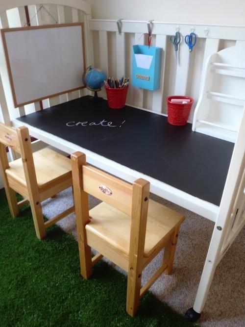 Silla y escritorio infantil decoraci n infantil - Sillas escritorio infantiles ...
