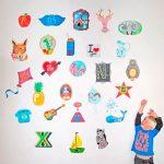 Vinilos infantiles de abecedario