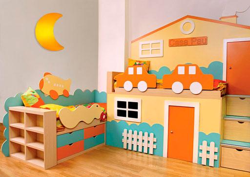 Camas infantiles de madera | Decoración infantil
