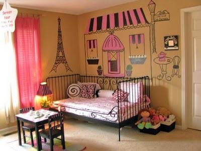 Camas infantiles rosa