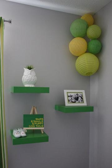 Estanter as infantiles de pared decoraci n infantil - Estanteria pared infantil ...