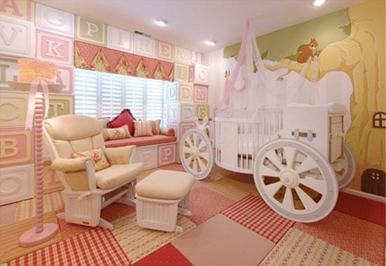 habitacin de beb princesa