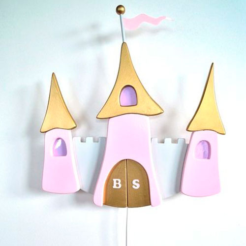 L mparas infantiles de pared decoraci n infantil for Lamparas pared infantiles