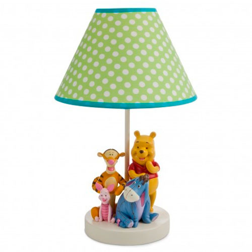 L mparas infantiles winnie the pooh decoraci n infantil for Lamparas pared infantiles