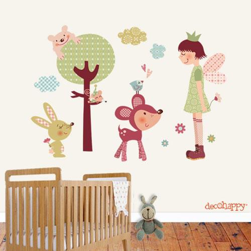 Vinilos infantiles de animales decoraci n infantil for Vinilos infantiles animales
