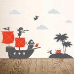 Vinilos infantiles marinos